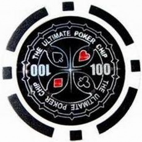 BLISTER 25 FICHES POKER LASER STICKER VALORE 100